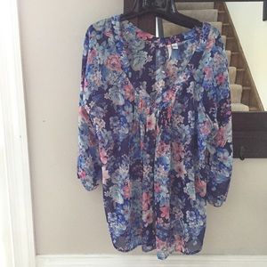 Lauren Conrad shirt blouse Xl